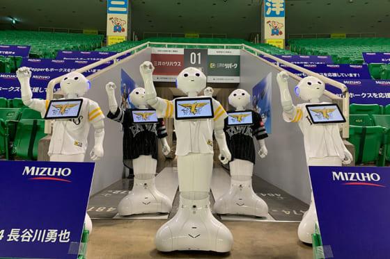 ロボットを制御するのは人間です